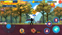 FRANTIC STICKMAN RETURNS COOL game SHOWDOWN IN the CITY funny video for children about the hero