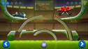 UGLY KRAMPUS New video for kids battle car game as a cartoons cars race cars Drive AHEAD
