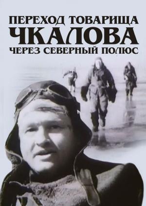 Переход товарища Чкалова через Северный полюс