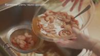 Креветки в маринаде с рисом